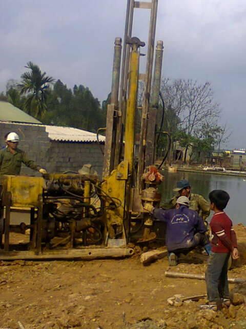 Dịch vụ ép cọc bê tông tại các quận Huyện Hà Nội